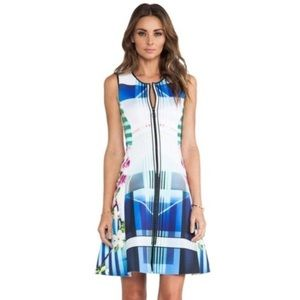Clover Canyon Neoprene Hollywood Bowl Dress